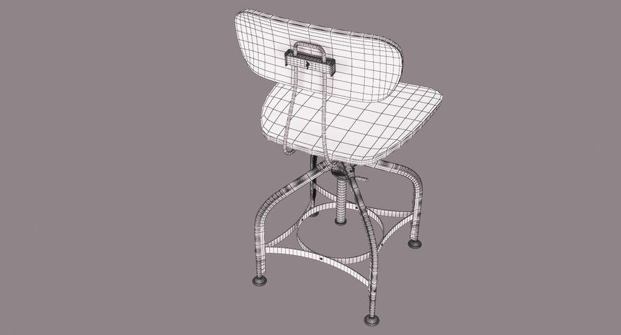 Krzesło przemysłowe royalty-free 3d model - Preview no. 17