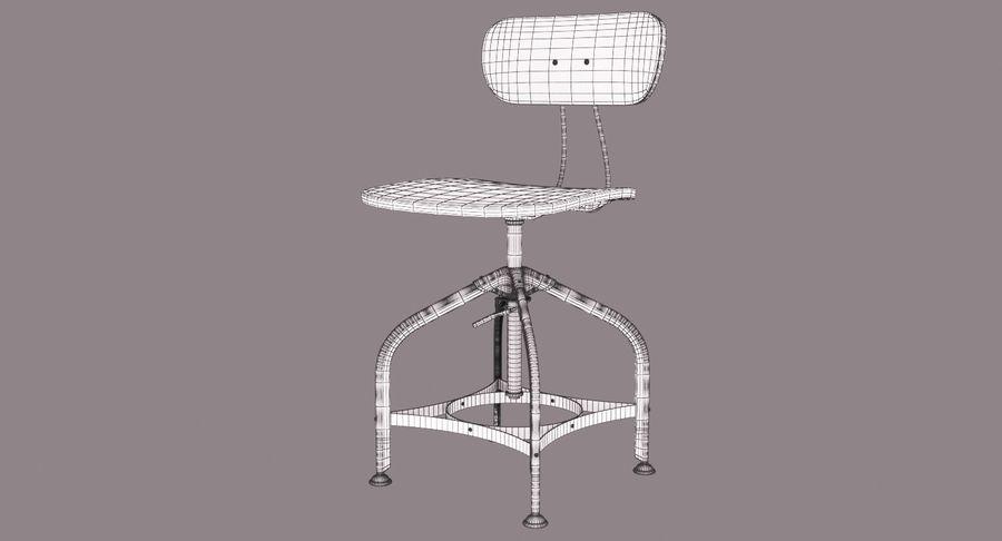 Krzesło przemysłowe royalty-free 3d model - Preview no. 10