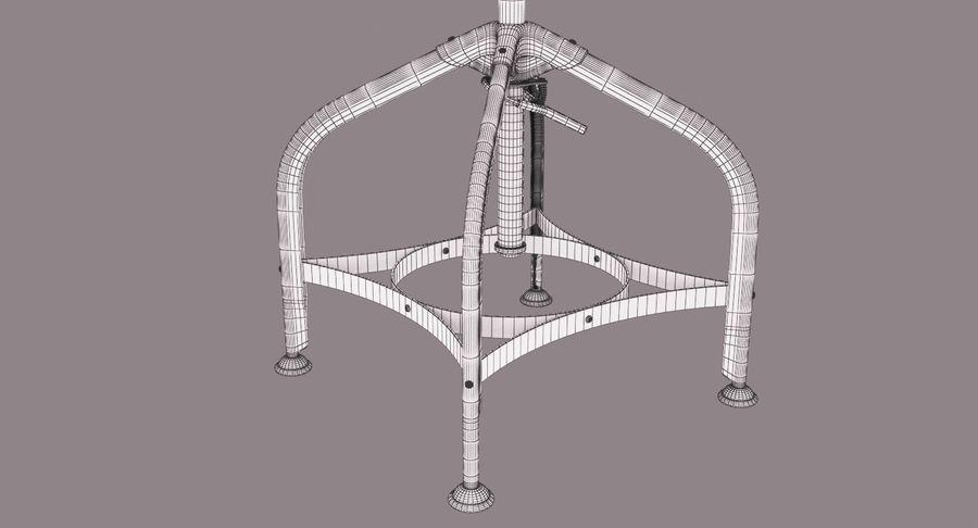 Krzesło przemysłowe royalty-free 3d model - Preview no. 15