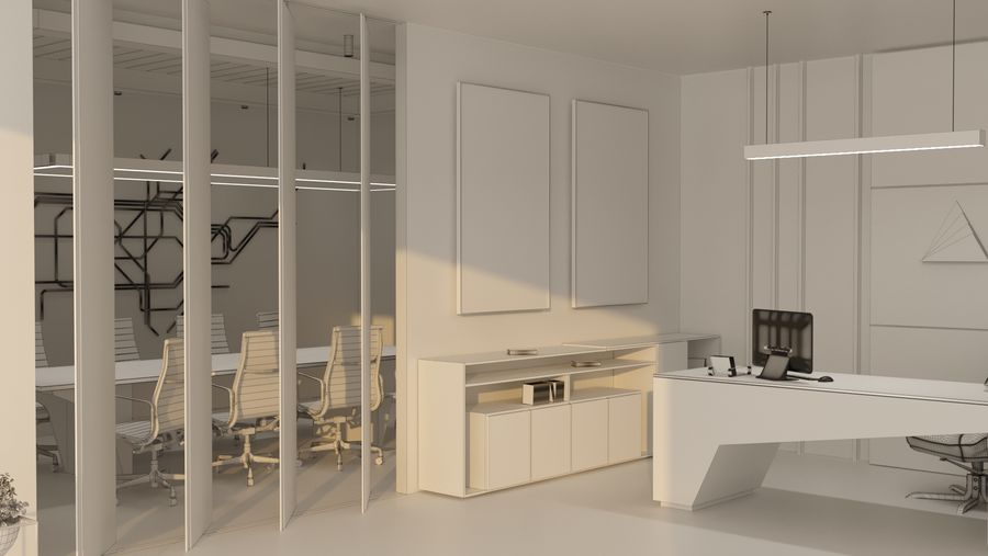 Office Interior Design 3d Model 20 Max Unknown Obj Free3d