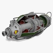 Turbina 3d model