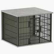 Tom fängelsecell 3d model