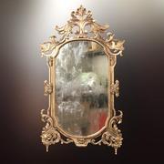 Классическое Зеркало и Рамка 3d model