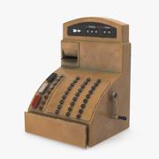 Cartoon Cash Register 3d model