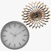 Samtida och moderna klockor 3d model