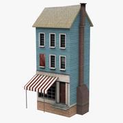Vecchia casa di Amsterdam 3d model