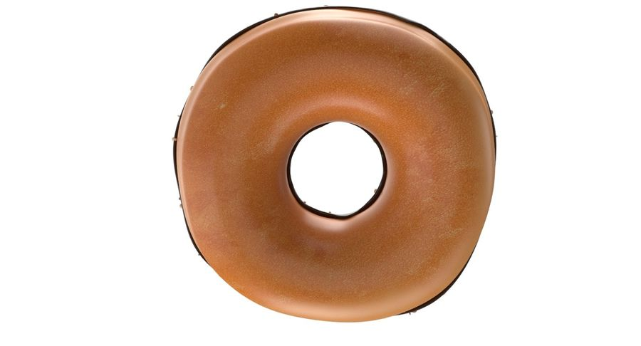 Dört Donut royalty-free 3d model - Preview no. 21