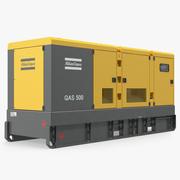Industrial Diesel Generator Atlas Copco 3d model