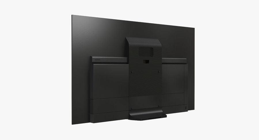 Sony OLED TV Bravia AF8 Off royalty-free 3d model - Preview no. 4