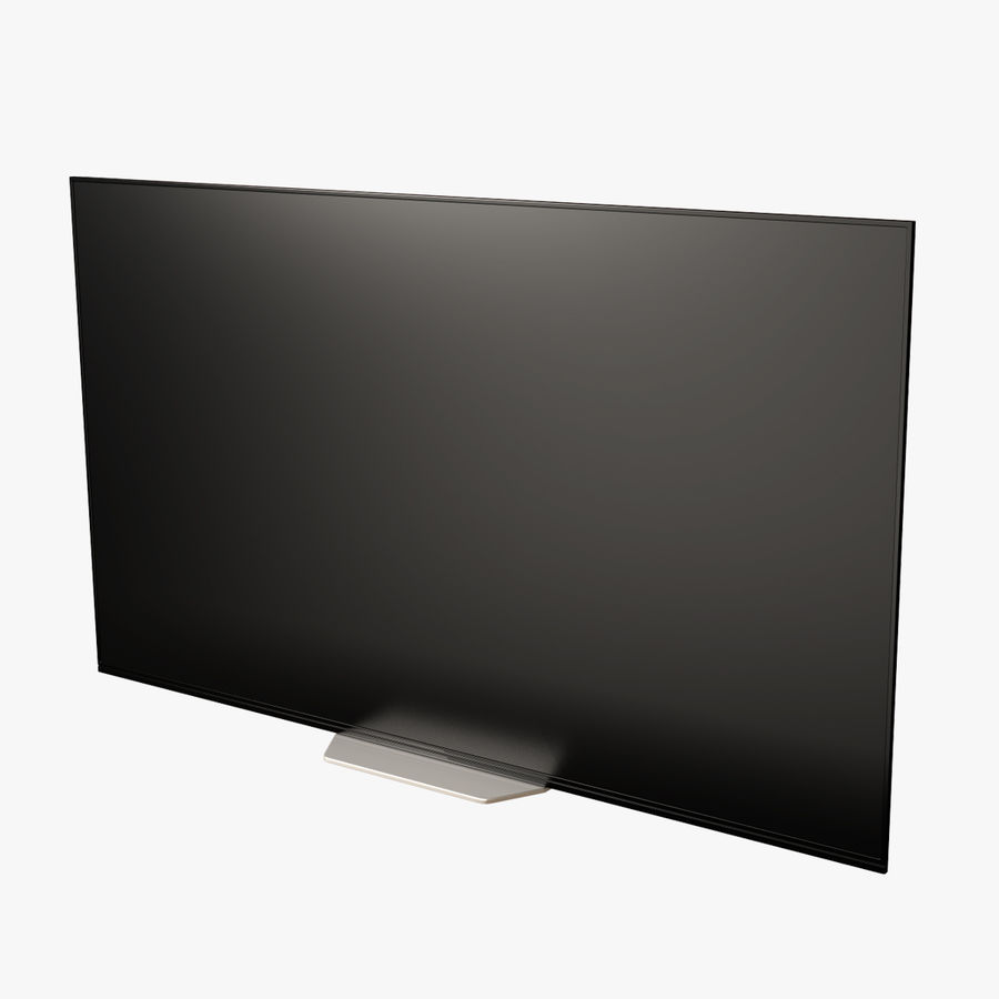 Sony OLED TV Bravia AF8 Off royalty-free 3d model - Preview no. 1