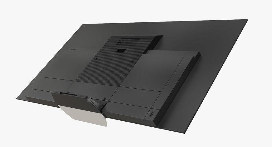 Sony OLED TV Bravia AF8 Off royalty-free 3d model - Preview no. 6