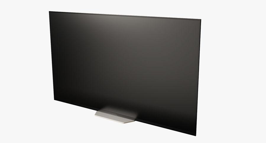 Sony OLED TV Bravia AF8 Off royalty-free 3d model - Preview no. 2