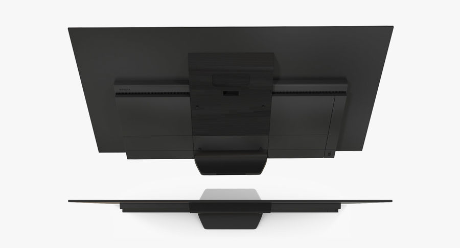 Sony OLED TV Bravia AF8 Off royalty-free 3d model - Preview no. 5