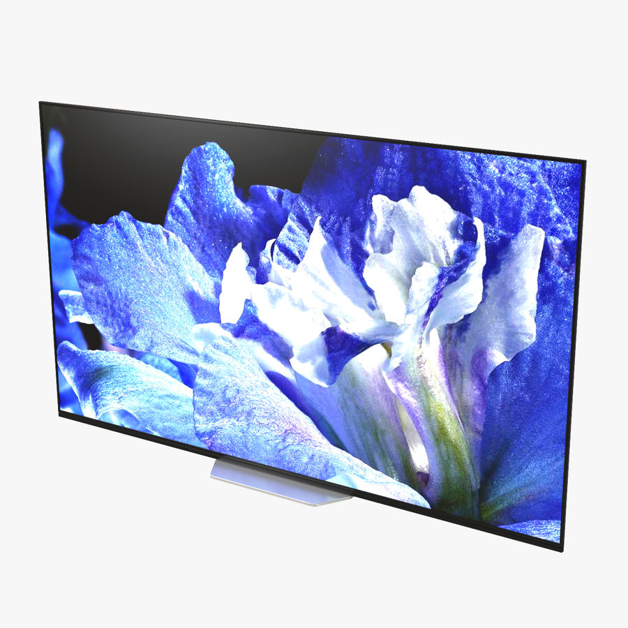 Sony TV Bravia AF8 On royalty-free 3d model - Preview no. 1