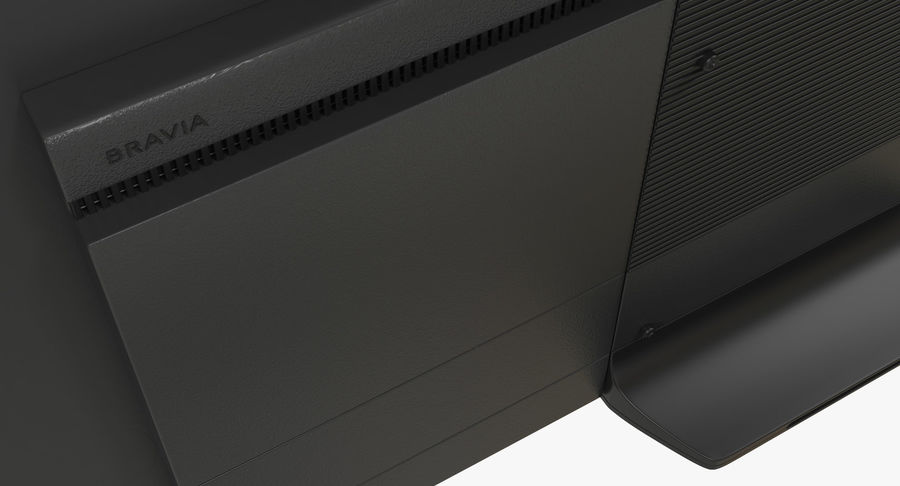 Sony TV Bravia AF8 On royalty-free 3d model - Preview no. 7