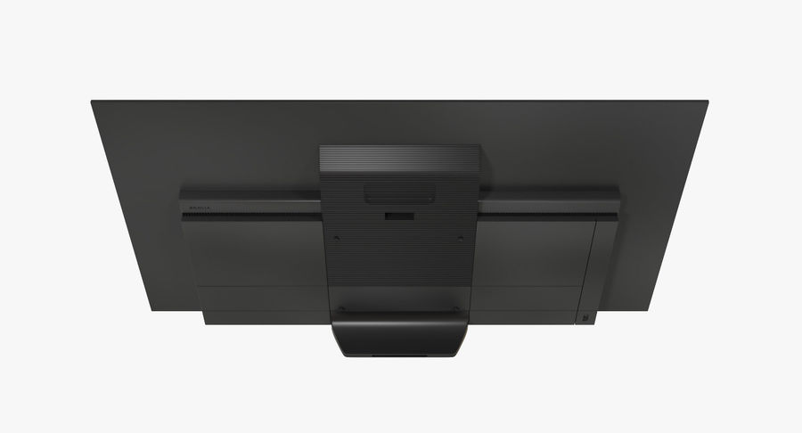 Sony TV Bravia AF8 On royalty-free 3d model - Preview no. 6