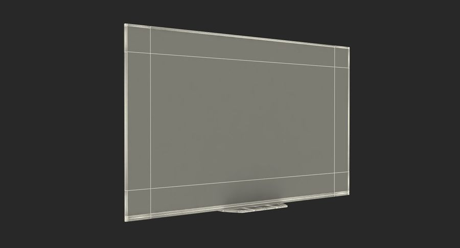 Sony TV Bravia AF8 On royalty-free 3d model - Preview no. 15