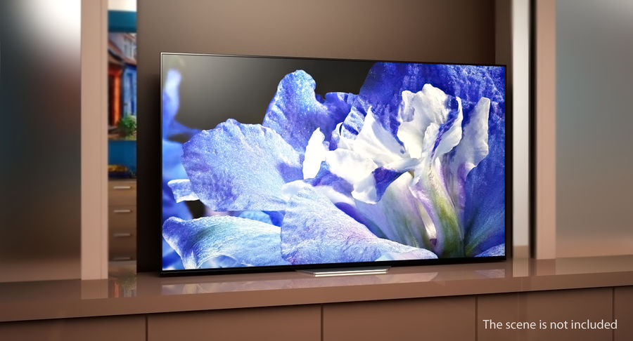 Sony TV Bravia AF8 On royalty-free 3d model - Preview no. 3