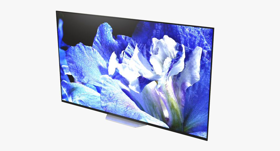 Sony TV Bravia AF8 On royalty-free 3d model - Preview no. 2