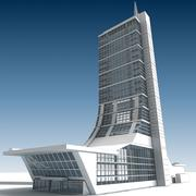 Building 09 3d model