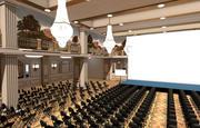 salle de bal 3d model