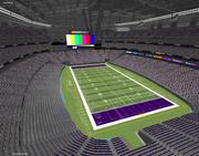 Stadion US Bank - Minneapolis, MN 3d model