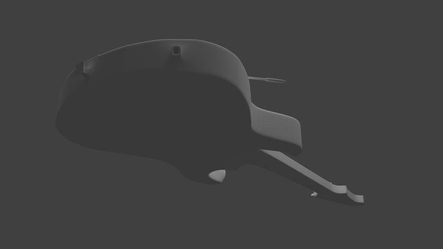 Elgitarr royalty-free 3d model - Preview no. 5
