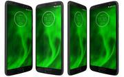 Motorola Moto G6 Deep Индиго и Нимбус 3d model