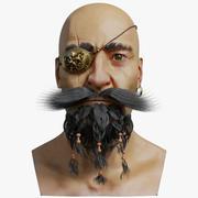 海賊 3d model