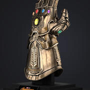 Thanos Infinity Gauntlet - Avengers Infinity War 3d model