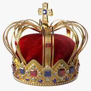 La corona del rey modelo 3d