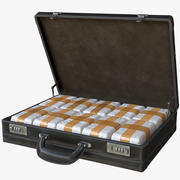 Briefcase with Drugs 3d model