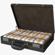 带毒品的公文包 3d model