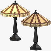 Klassiskt bordsljus 3d model