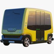 3D EZ10 Driver minus buss buss gul 3d model