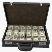钱公文包 3d model