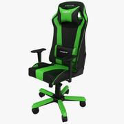 DxRacer King Gaming Chair Green 3d model