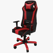 DxRacer King Gaming Chair Red 3d model