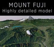 Mont Fuji 3d model