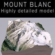 Monte Branco 3d model