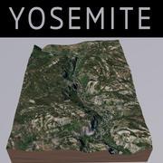 ヨセミテ公園 3d model
