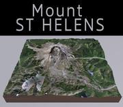 Mount St Helens 3d model
