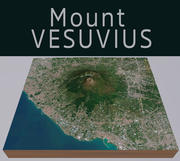 Monte Vesúvio 3d model