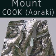 Mount Cook Aoraki NZ 3d model