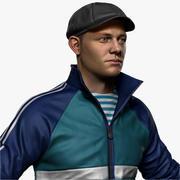 Russian Hooligan Slava Zbrush 3d model