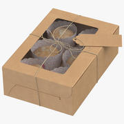 Muffin-Verpackung 3d model
