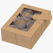 Muffin verpakking 3d model
