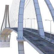 Подвесной мост 3d model
