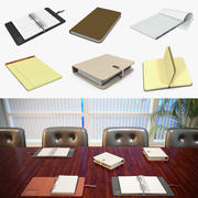 Writing Journals Collection 3d model