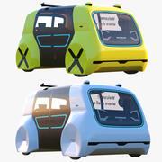Sedric bussar samling 3d model